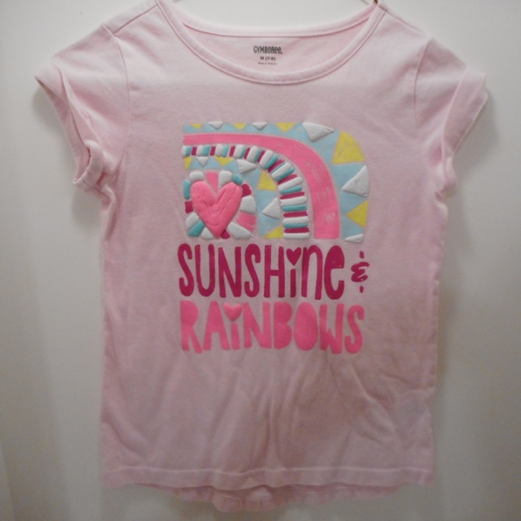 521e8d3e1 Gymboree Shirts & Tops | Girls Sunshine And Rainbows Shirt Size M ...